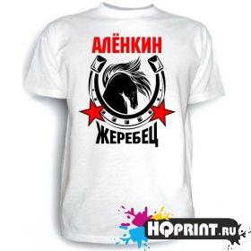 Футболка Алёнкин жеребец