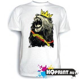 Футболка Царь (лев)