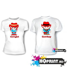 Парные футболки Ковбои