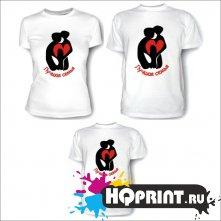 Комплект футболок Лучшая семья