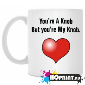 Кружка You're A Knob But you'ru my Knob