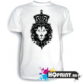Футболка Лев с короной