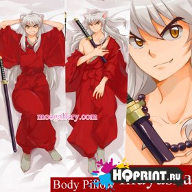 Инуяша Inuyasha Dog Forest Spirit Anime Dakimakura наволочка